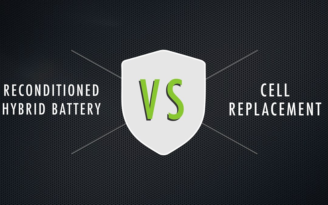 Reconditioned Hybrid Battery vs. Cell Replacement